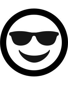 Sunglasses Face Emoji gobo