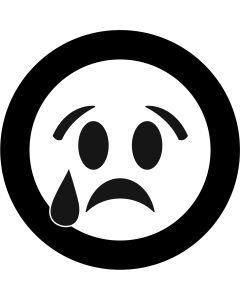 Crying Face Emoji gobo