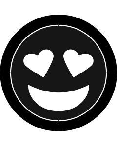 Heart Eyes Emoji gobo