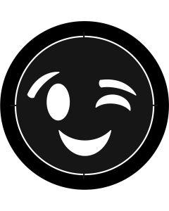 Winking Emoji gobo