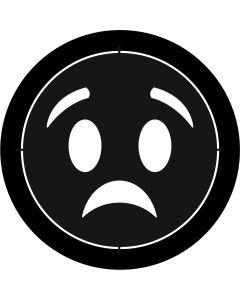 Worried Emoji gobo