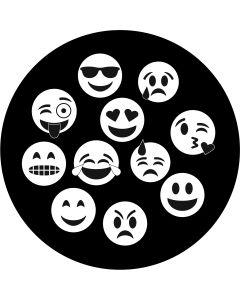 Emoji Breakup gobo