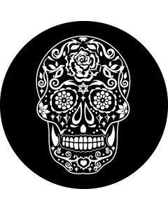 Sugar Skull Black gobo