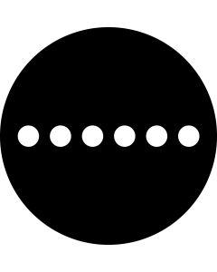 Laser Dots Large gobo