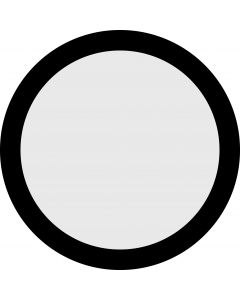 Circle Aperture gobo