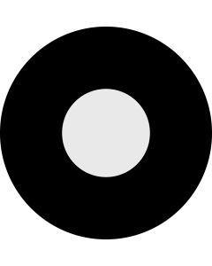 Circle Aperture 50% gobo