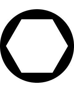Hexagon gobo