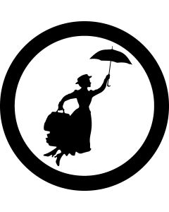 Mary Poppins Silhouette gobo
