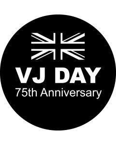 VJ Day 75 Flag gobo