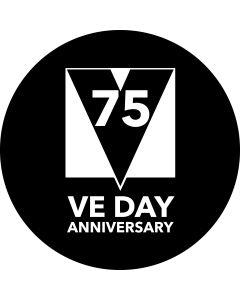 VE Day 75 Glass gobo