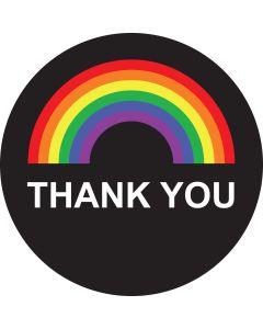 Thank You Rainbow gobo