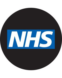 NHS Blue Rectangle gobo