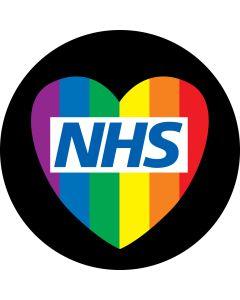 NHS Rainbow Heart gobo