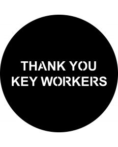 Thank You Key Workers gobo