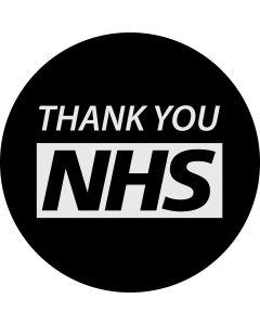 Thank You NHS gobo