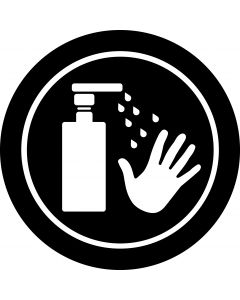 Sanitise Your Hands 2 gobo