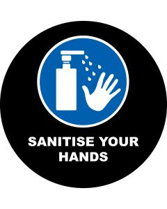 Sanitise Your Hands 3 gobo