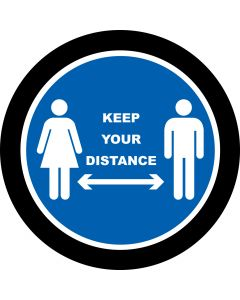 Keep Your Distance 1 gobo