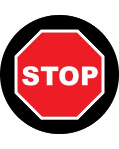 Stop Sign gobo