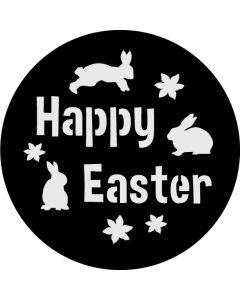 Happy Easter Bunnies gobo