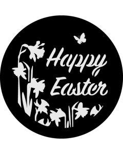 Happy Easter Daffodils gobo