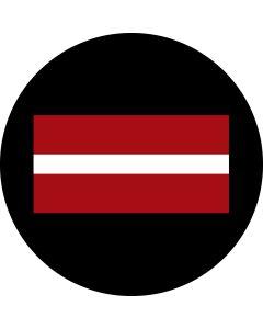 Latvia Flag gobo