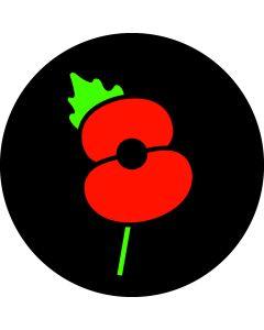 Poppy Badge gobo