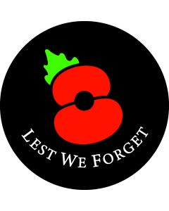Poppies Remembrance gobo