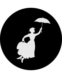 Mary Poppins Glass gobo
