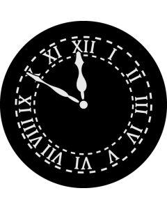 Clock 11.50 gobo