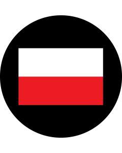 Poland Flag gobo