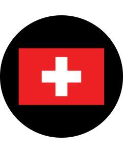 Switzerland 2 Flag gobo