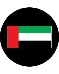UAE Flag gobo