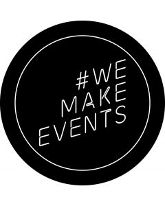 We Make Events gobo