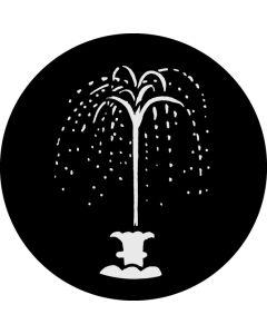 Fountain gobo