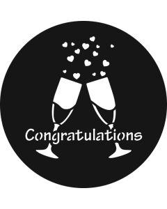 Congratulations 1 gobo