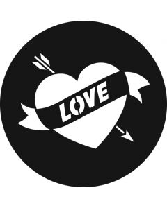 Love Heart Tattoo gobo