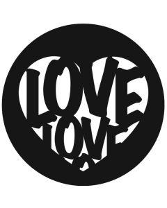 Love Heart gobo