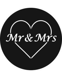 Mr & Mrs Heart gobo