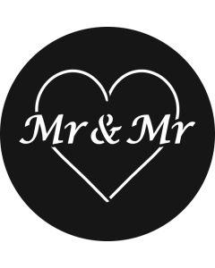 Mr & Mr Heart gobo
