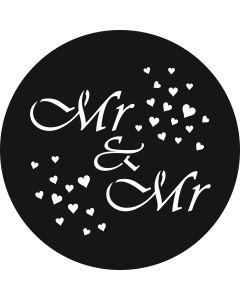 Mr & Mr Hearts gobo