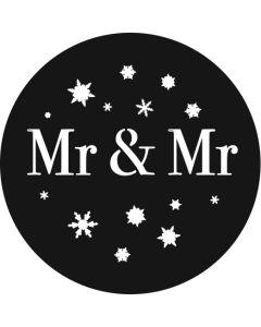 Mr & Mr Snowflakes gobo