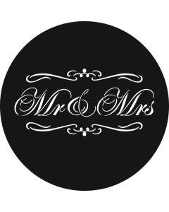 Mr & Mrs Swirls gobo