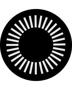 Lined Circle gobo