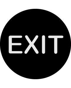 Exit gobo