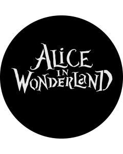 Alice in Wonderland gobo