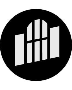 Gospel Window Oblique gobo
